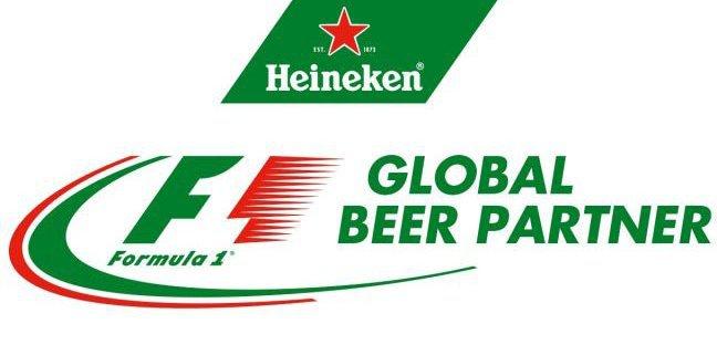 Heineken F1 Global beer Partner